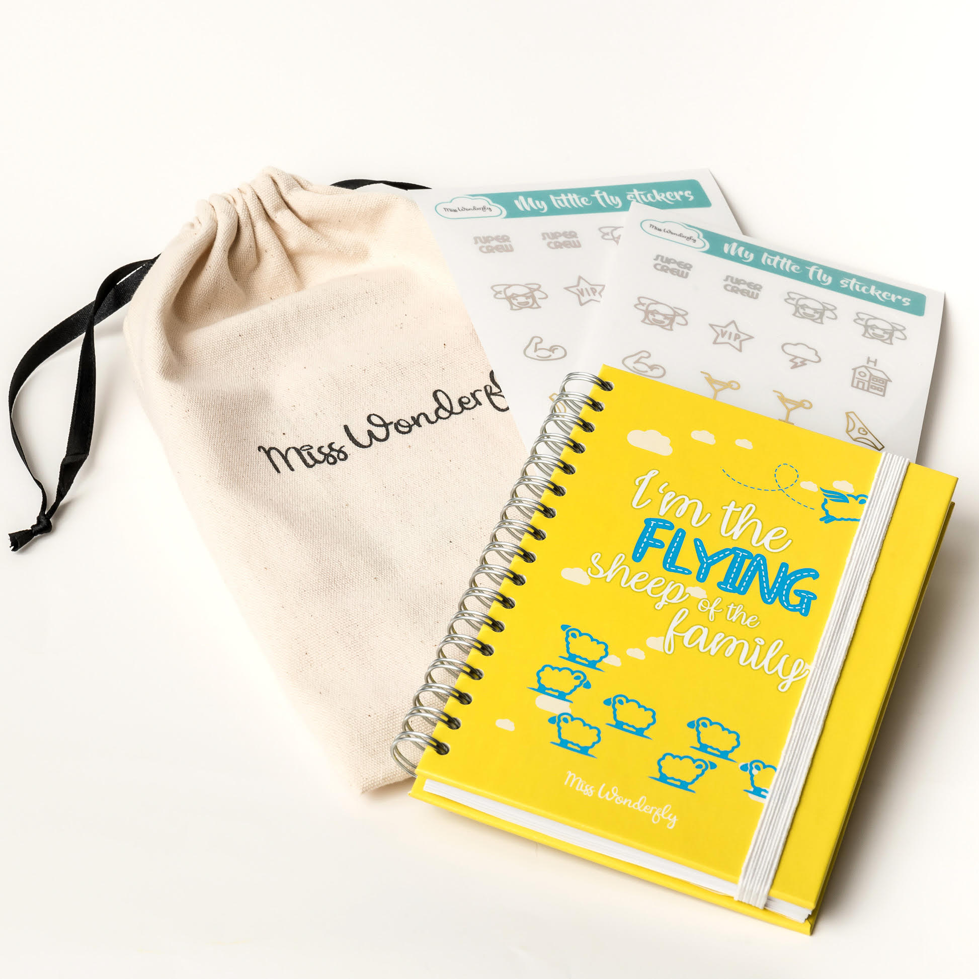 IN-FLIGHT NOTEBOOK A6 YELLOW